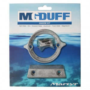 MG Duff Anode Kit Volvo 290DP Magnesium