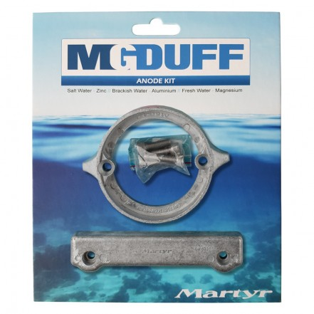 MG Duff Anode Kit Volvo 280DP Zinc