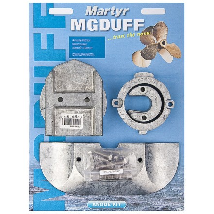 MG Duff Anode Kit Mercruiser Alpha