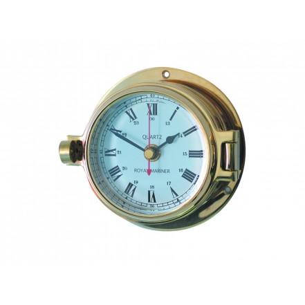 Channel 84mm Brass Clock