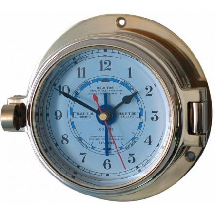 Channel 84mm Brass Tide Clock