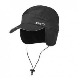 Musto Waterproof Fleece Lined Cap Black