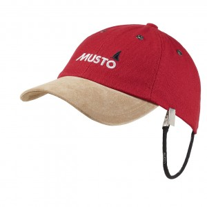 Musto Evolution Original Crew Cap Red