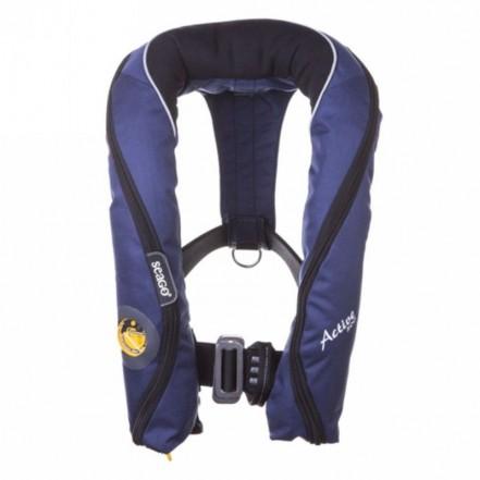 Seago Active 300N Auto-Harness Lifejacket Navy