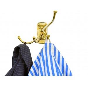 Nauticalia 4 Way Swivelling Brass Hook