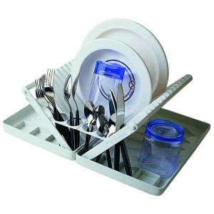 Nauticalia Folding Dish Rack And Drainer
