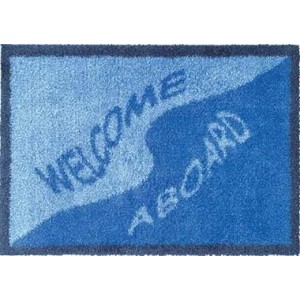Turtle Mat 40cm x 60cm Welcome Aboard