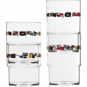 Marine Business Regata Tableware Stackable Glass