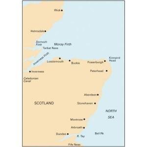 Imray C23 Chart East Scotland