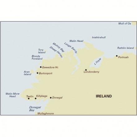 Imray C53 Chart Donegal to Rathlin Island