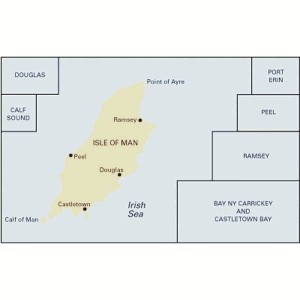 Imray Chart Y70 Isle Of Man