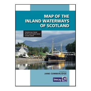 Imray Inland Waterways Of Scotland - Map