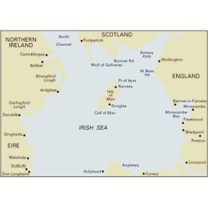 Imray C62 Chart Irish Sea