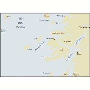 Imray C65 Chart Crinan to Mallaig & Barra