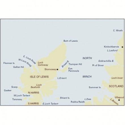 Imray C67 Chart North Minch & Isle of Lewis