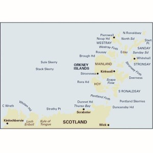 Imray C68 Chart Cape Wrath to Wick & the Orkney Islands