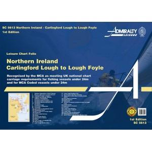 Admiralty Charts Folio Northern Ireland