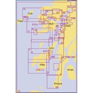 Admiralty Chart Folio SC5611 Scotland West Coast