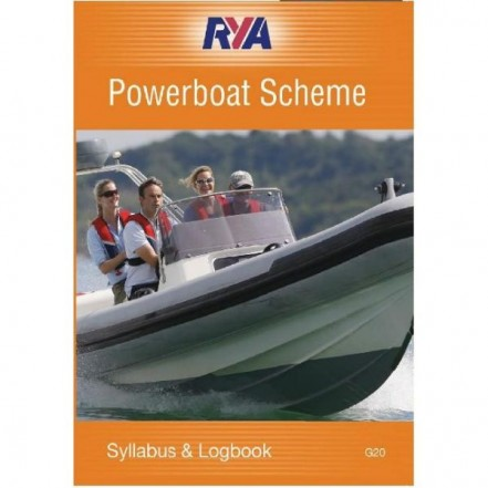RYA Powerboat Scheme Syllabus And Logbook - G20