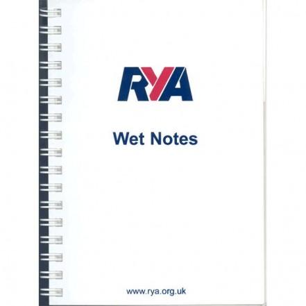 RYA Wetnotes Pad
