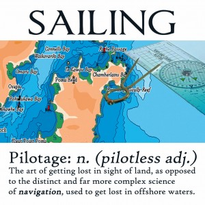 Nauticalia Sailing Definitions Greeting Cards
