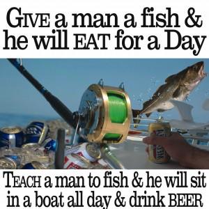 Nauticalia Give A Man A Fish...