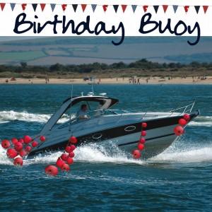 Nauticalia Birthday Buoy
