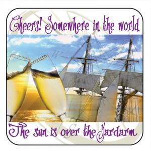 Nauticalia Coaster Cheers