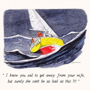 Nauticalia Greeting Card 'I know you sail...'
