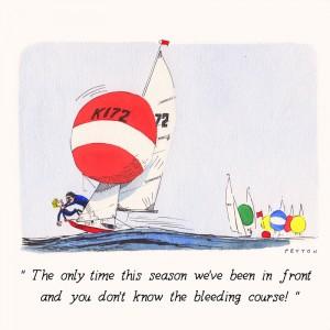 Nauticalia Greeting Card 'The only time this Season./..'