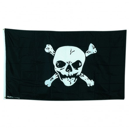 Nauticalia Flag Jolly Roger 56 x 48cm