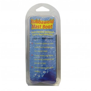 Rubbaweld Mast Boot Tape Black 100mm x 3 Metre