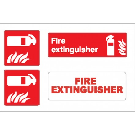 Nauticalia Sticker Extinguisher