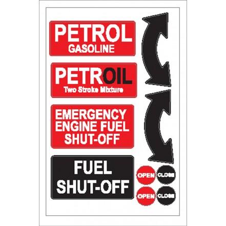Nauticalia Sticker Fuel