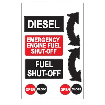Nauticalia Sticker Diesel Fuel