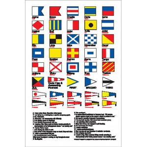 Nauticalia Sticker Flag