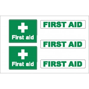 Nauticalia Sticker First Aid