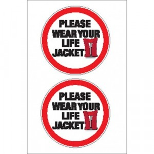 Nauticalia Sticker Lifejacket 1
