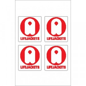 Nauticalia Sticker Lifejacket 2
