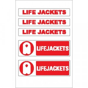 Nauticalia Sticker Lifejacket 3