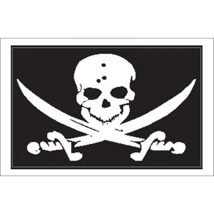 Nauticalia Sticker Skull & Crossbones