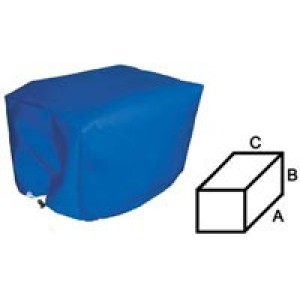 Solent Leisure Outboard Motor Cover Blue 45 x 25 x 30cm