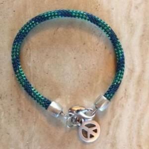 Heidi Peace Bracelet Green/Navy