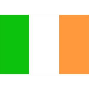 Waveline Ireland (Eire) Courtesy Flag 45 x 30cm