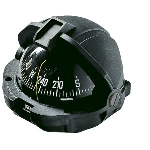 Plastimo Offshore 105 compass, black, conical card - ZONE A