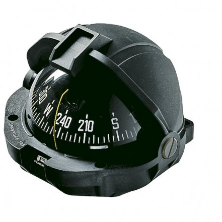 Plastimo Offshore 105 compass, black, conical card - ZONE A*
