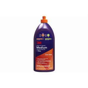 3M Perfect-It Medium Cut Compound + Wax 473ml