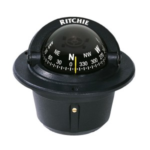 Ritchie Compass F50 Explorer Flush Mount Black