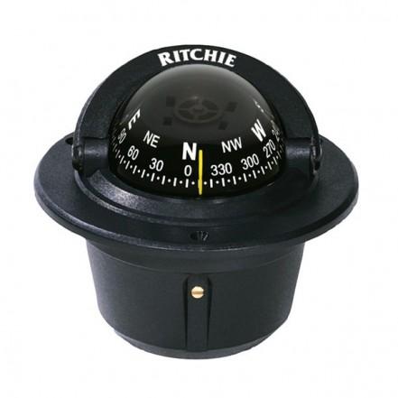 Ritchie Compass F50 Explorer Flush Mount Black