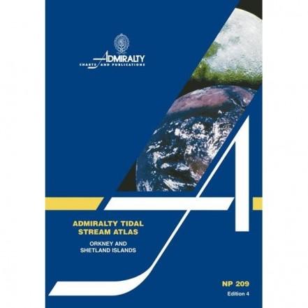 Admiralty Tidal Stream Atlas Orkney & Shetland Islands 4th Ed. NP209